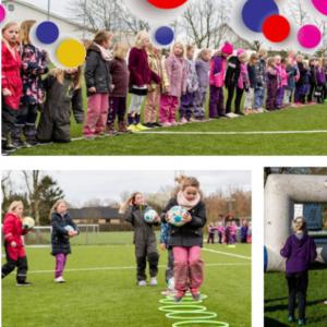 Fodboldfestival for piger