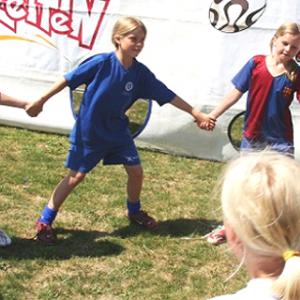 Fodboldfestival - kun for piger (0. - 1. kl.)